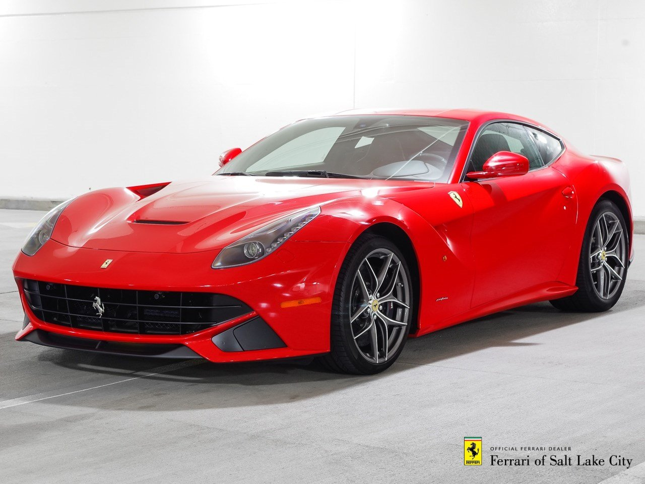 certified pre owned 2013 ferrari f12 berlinetta 2dr car in salt lake city 1ku0274 ferrari of. Black Bedroom Furniture Sets. Home Design Ideas