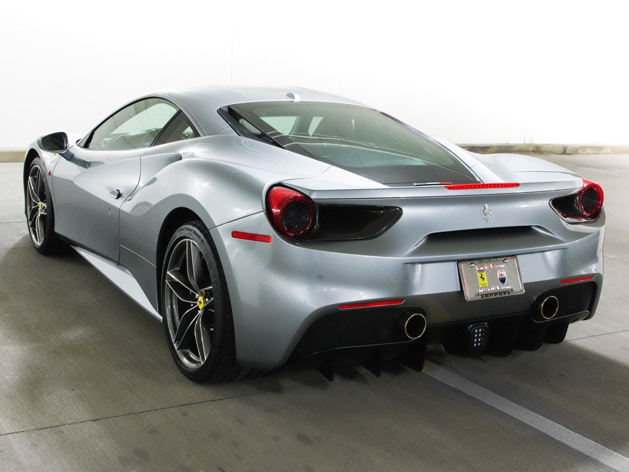 certified pre owned 2017 ferrari 488 gtb 2dr car in salt lake city