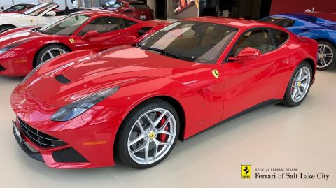 Certified Pre-Owned 2016 Ferrari F12 Berlinetta